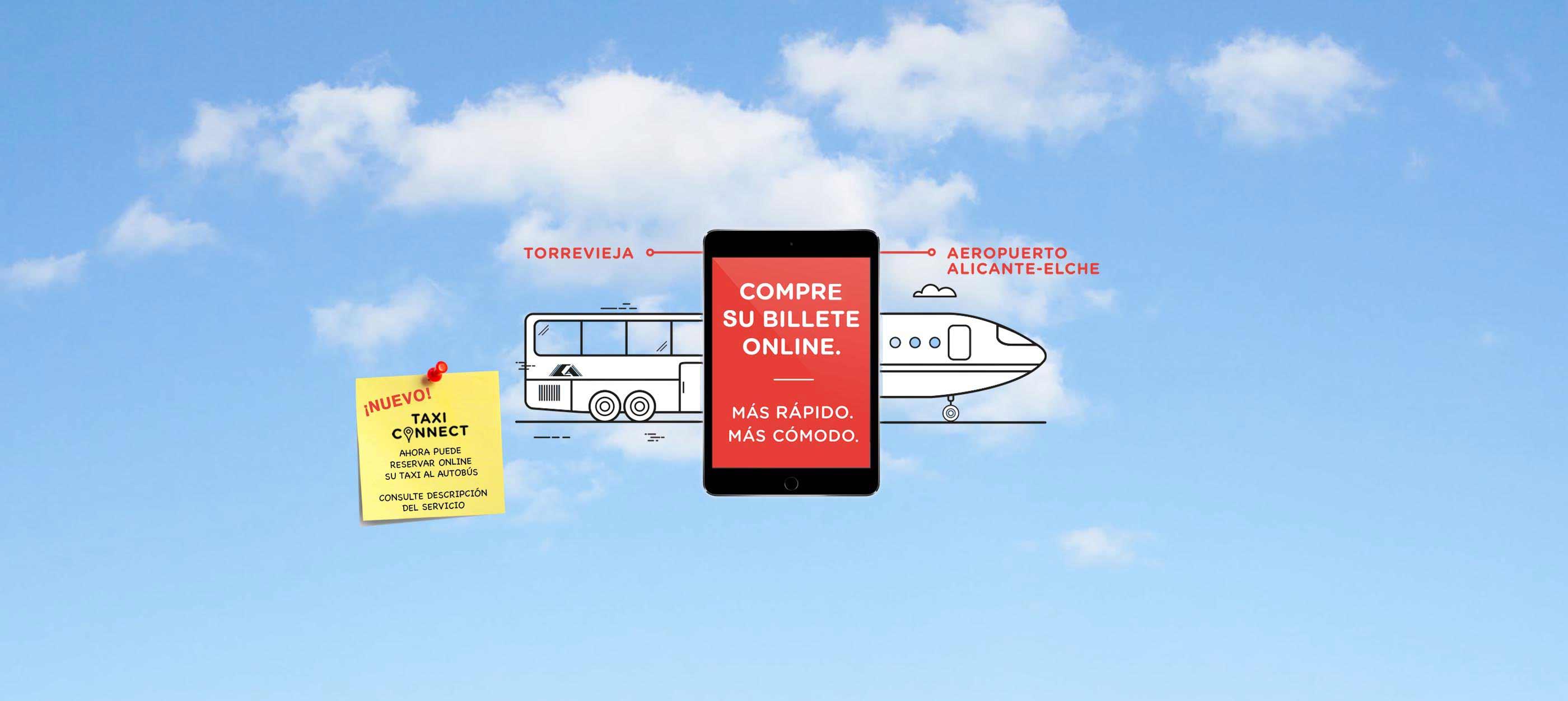 compra online billete línea aeropuerto